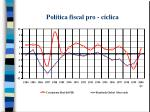 pol tica fiscal pro c clica