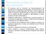proyecto de ley de bases de descentralizaci n