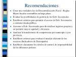 recomendaciones33