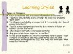 learning styles14