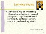 learning styles21