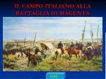 il campo italiano alla battaglia di magenta