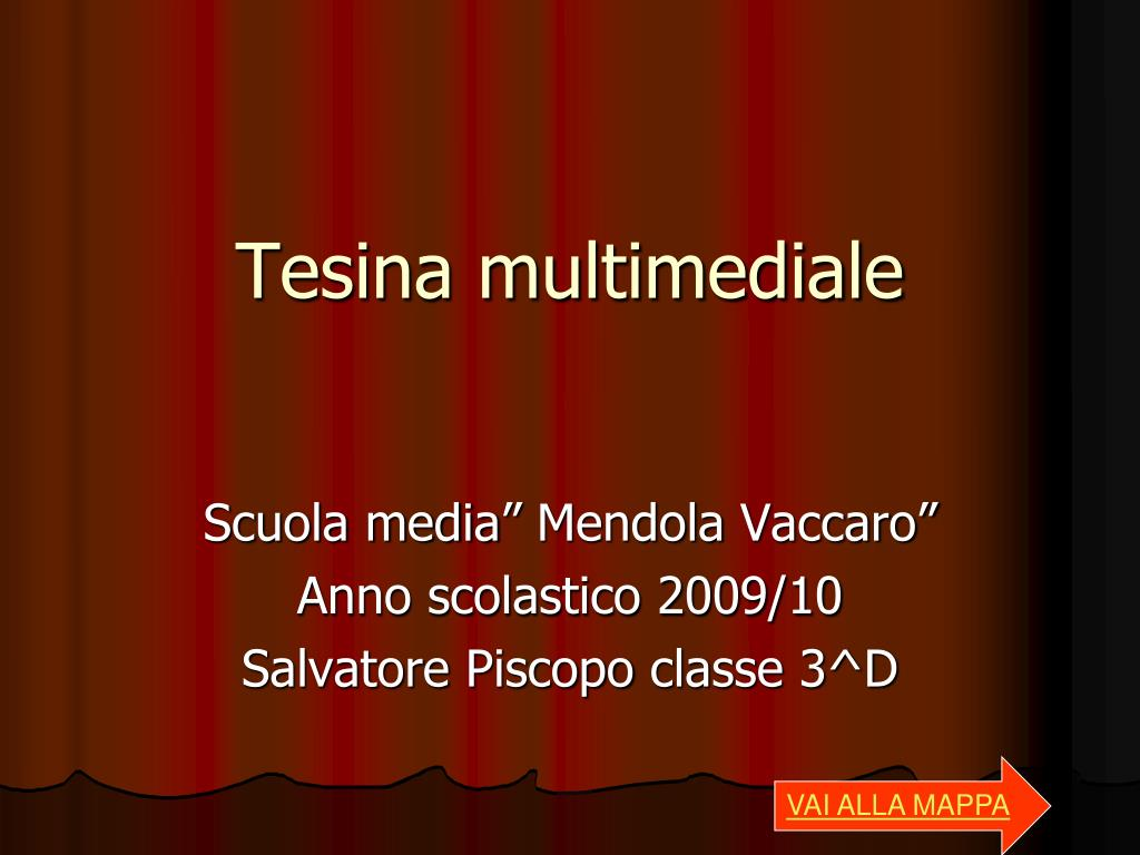 tesina multimediale l.