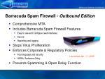 barracuda spam firewall outbound edition
