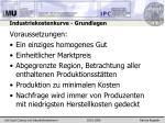 industriekostenkurve grundlagen9