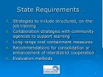 state requirements9