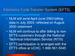 electronic fund transfer system efts
