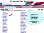 all items by state basic search33