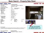 basic search property data sheet9
