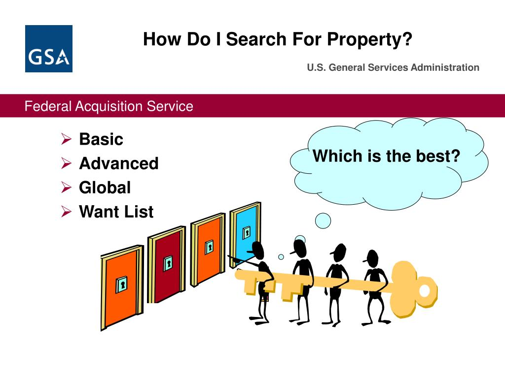 How Do I Search For Property?