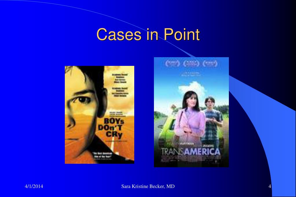 Cases in Point