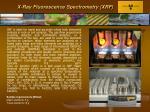 x ray fluorescence spectrometry xrf
