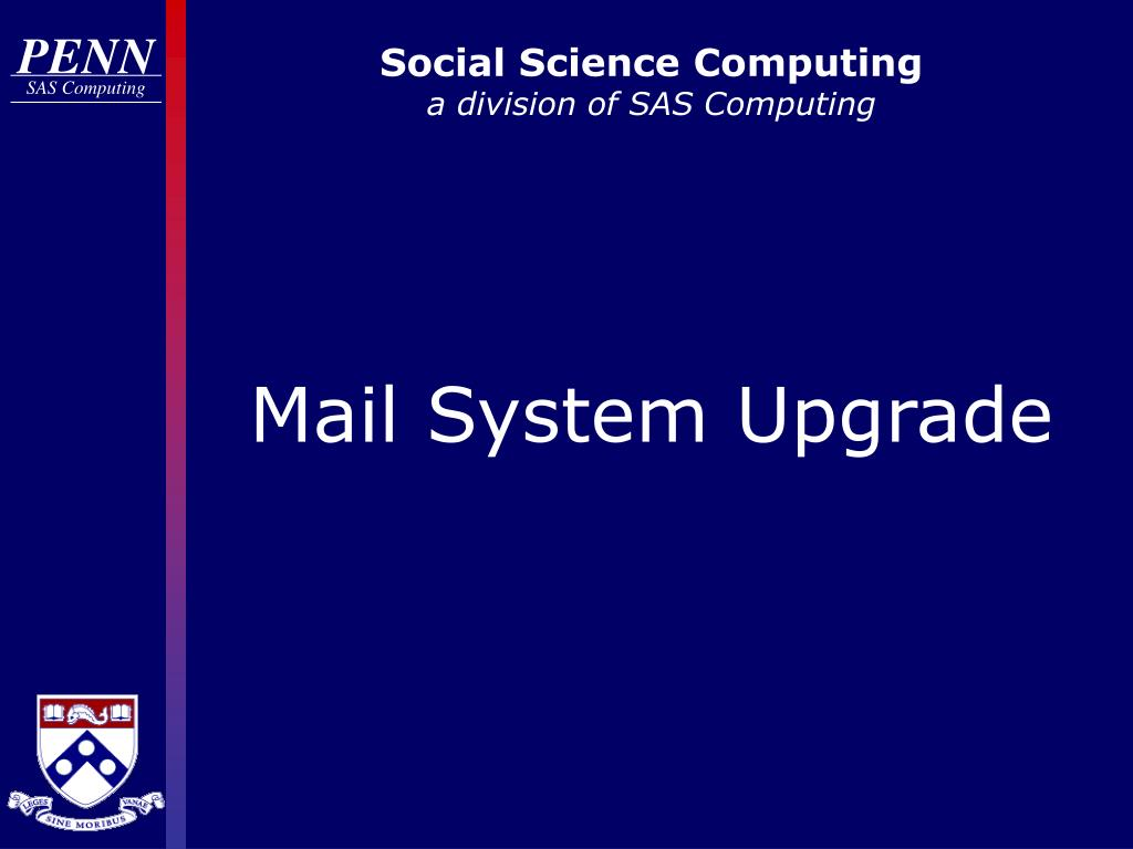 social science computing a division of sas computing l.