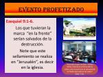 evento profetizado