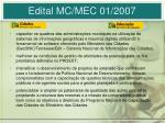 edital mc mec 01 2007