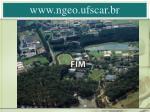 www ngeo ufscar br