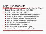 lapf functionality