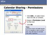 calendar sharing permissions