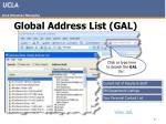 global address list gal