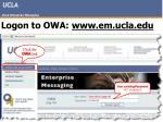 logon to owa www em ucla edu