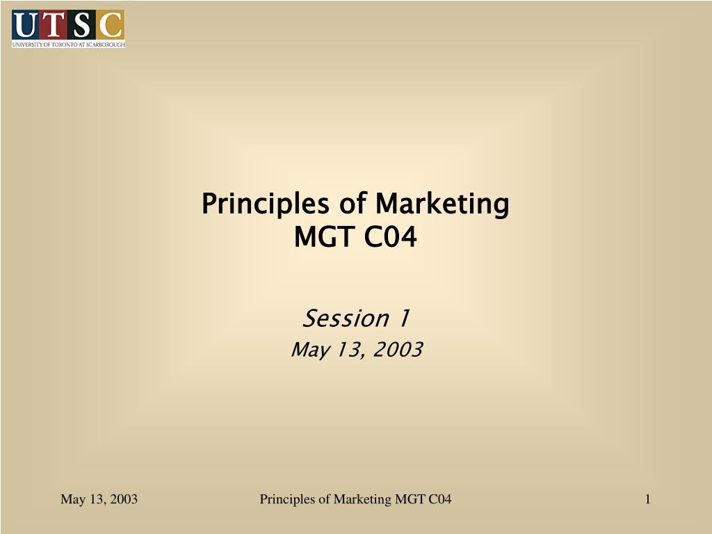 principles of marketing mgt c04 l.