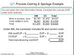 q7 process costing spoilage example41