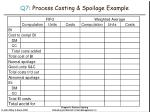 q7 process costing spoilage example43