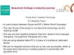 beaumont college e maturity journey8