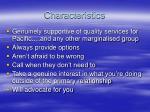 characteristics13