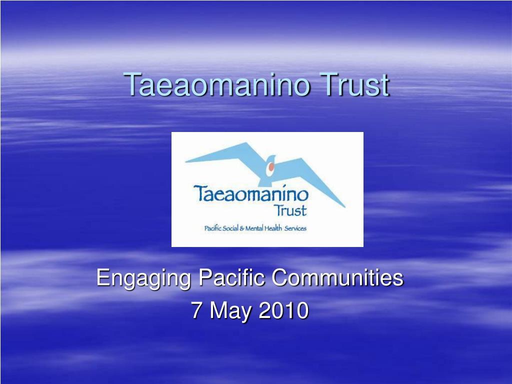 taeaomanino trust l.