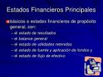 estados financieros principales
