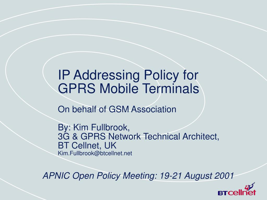 apnic open policy meeting 19 21 august 2001 l.