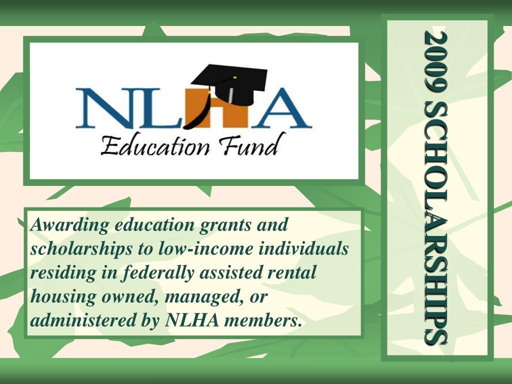 2009 scholarships l.