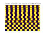 die roten horizontalen linien verlaufen sie parallel oder nicht