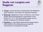 studie von langlois und roggman