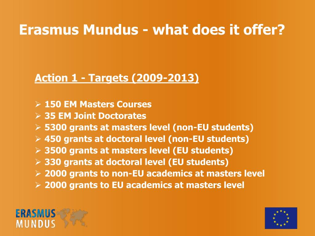 Erasmus Mundus - what does it offer?