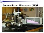 atomic force microscop afm