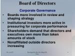 board of directors9