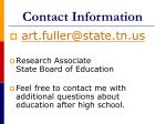 contact information57