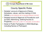 county specific rules22