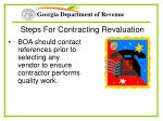 steps for contracting revaluation28