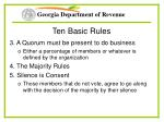 ten basic rules7