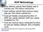irap methodology