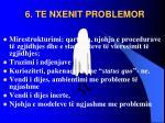 6 te nxenit problemor