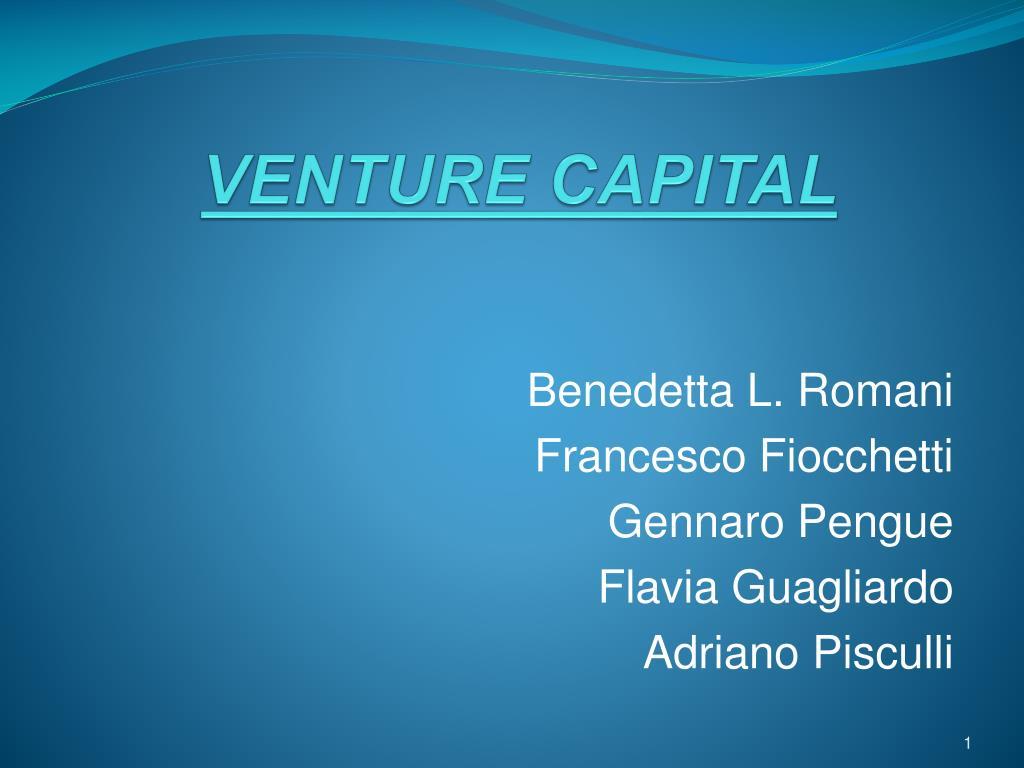 venture capital l.