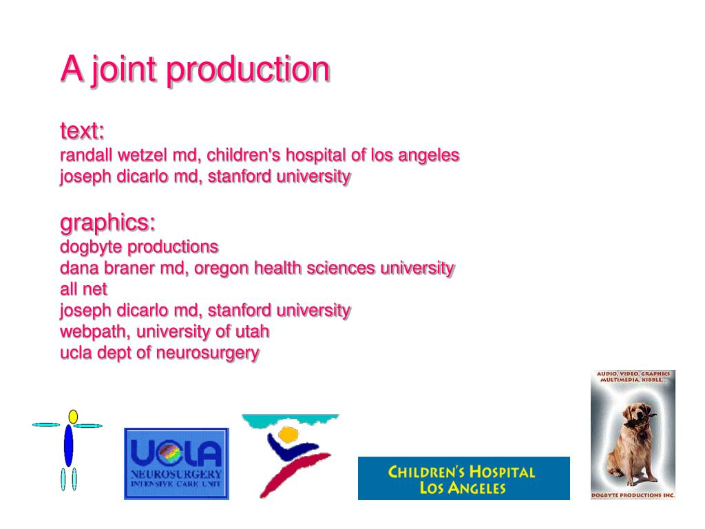 A joint production