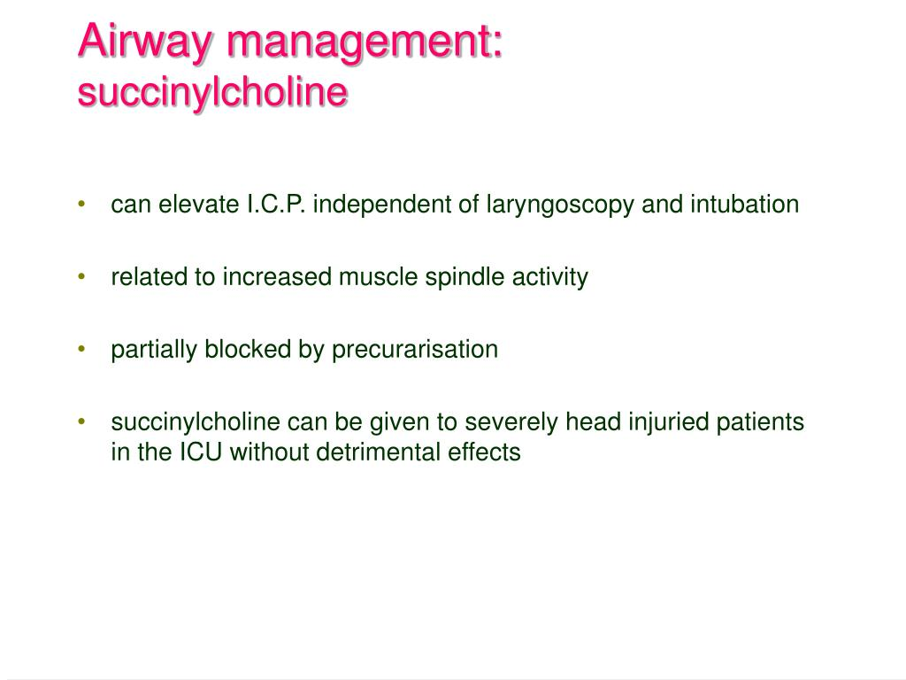 Airway management: