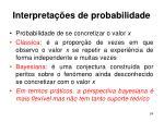 interpreta es de probabilidade