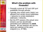 what s the problem with firewalls