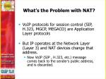what s the problem with nat